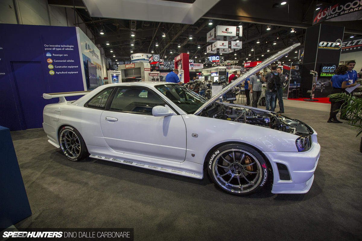 SEMA's Japanese Car Selection