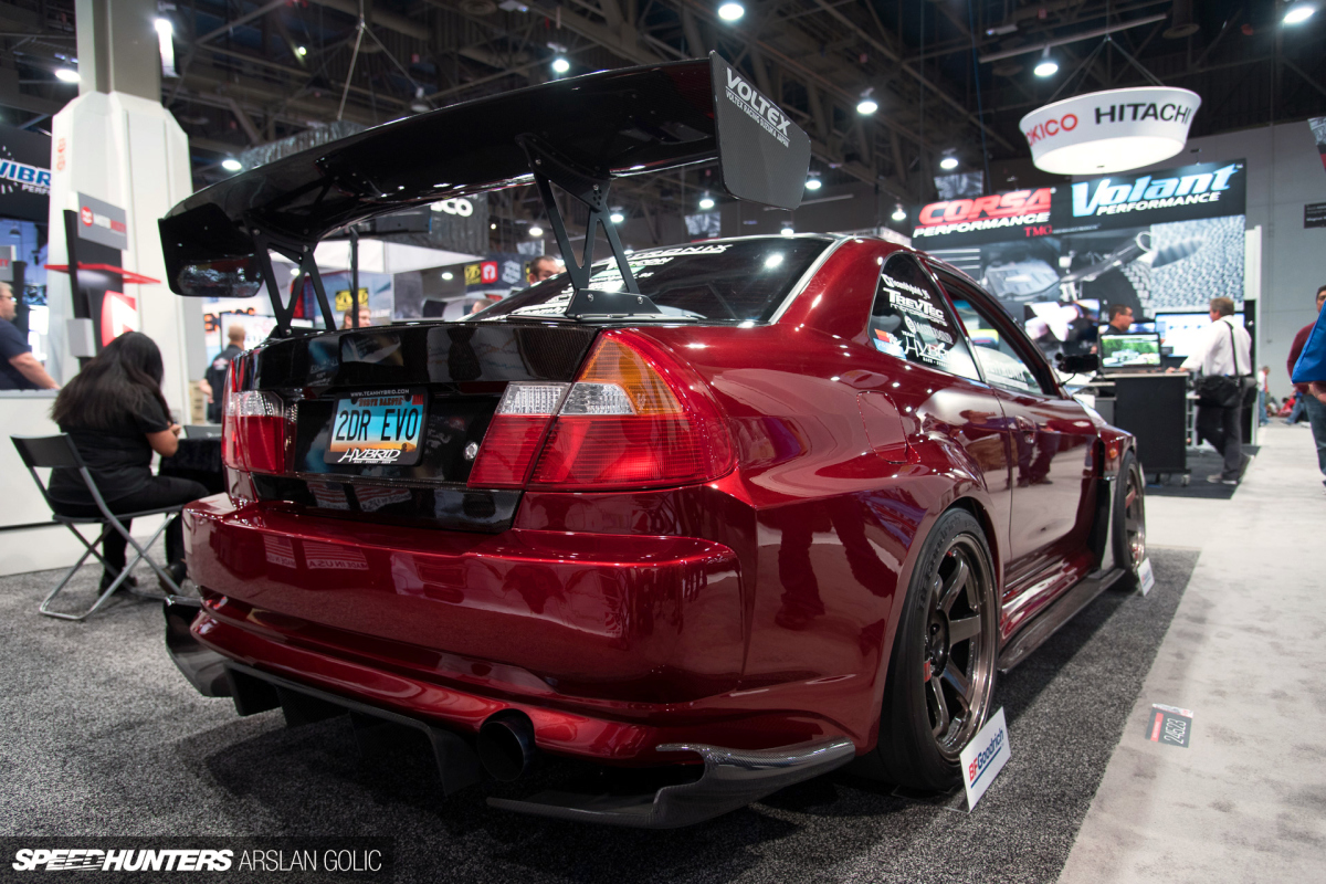 The 2-Door Evo: Time Attack Style For The Street