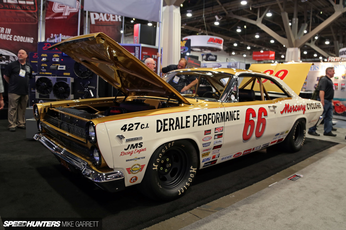 Modern Performance Meets Retro NASCAR