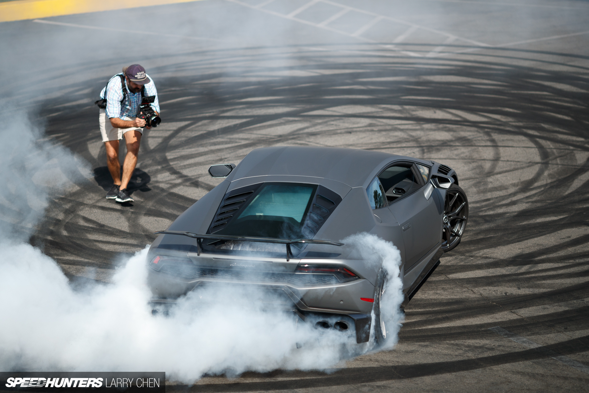 The Making Of Huracán Drift