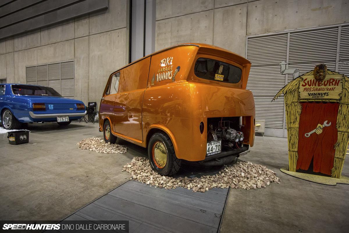 Kei Vanning: A Custom SubaruSambar