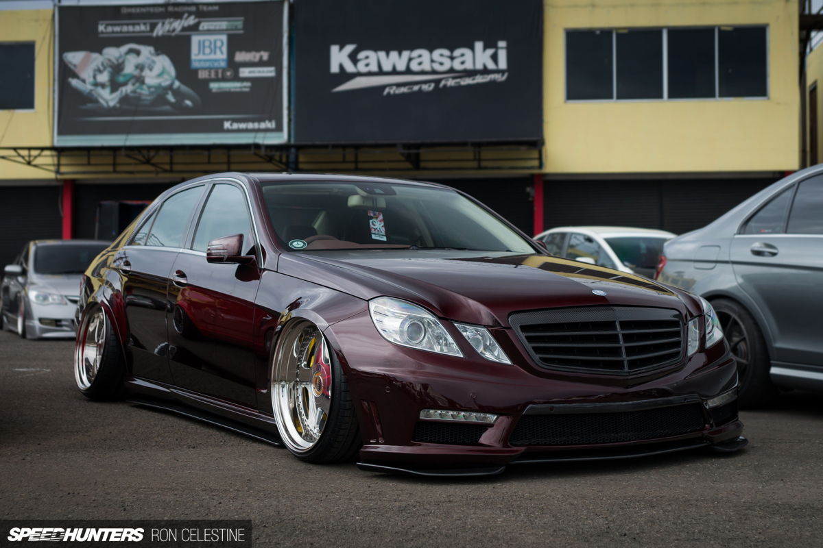 Laying Out A Late Model Benz Speedhunters
