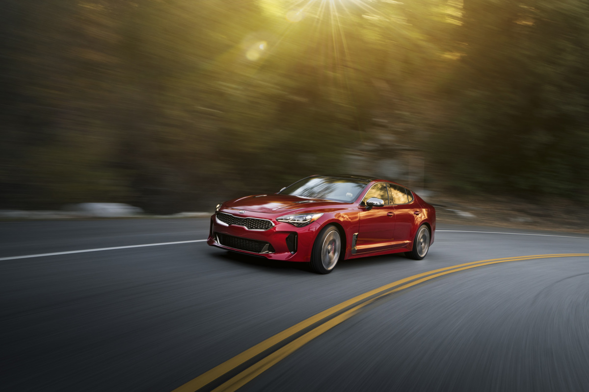 Meet The Stinger: Kia's New GT Machine