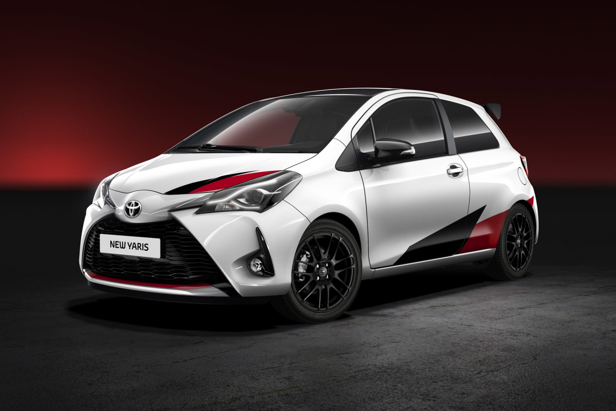 Toyota Is Building A Yaris HotHatch