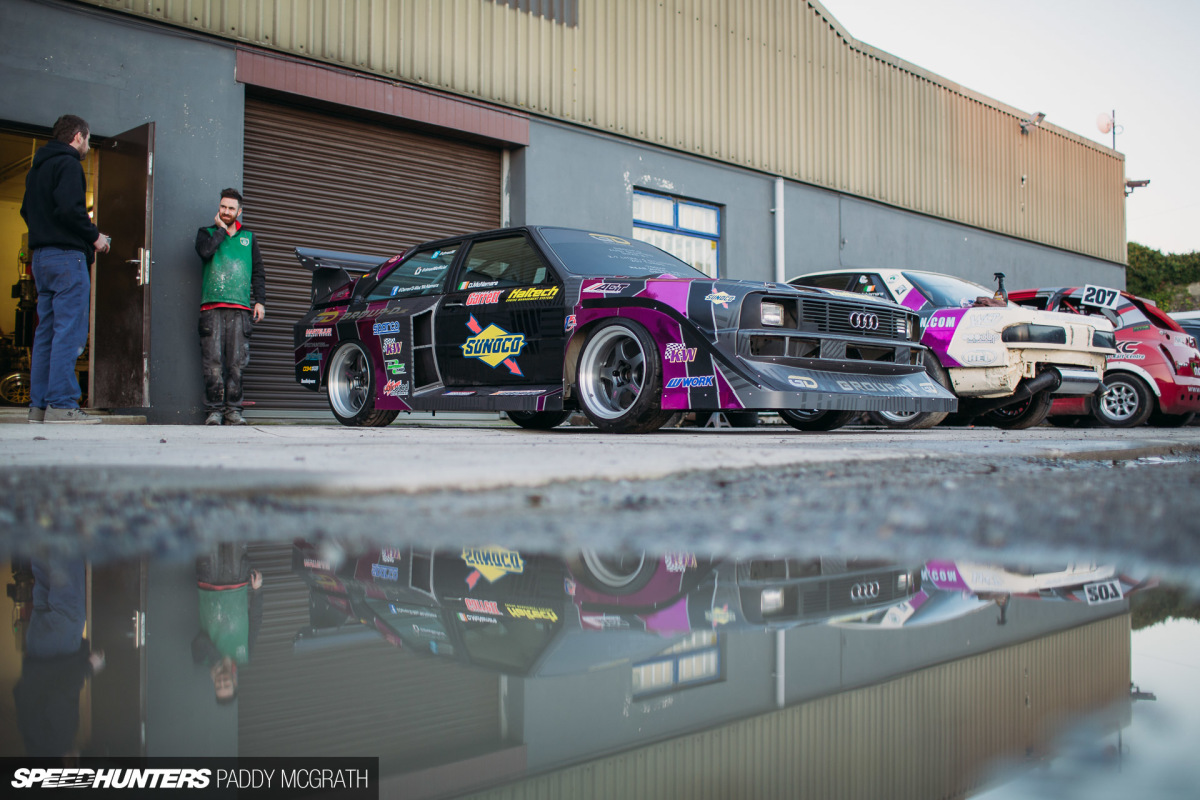 The Audi Drift Sport D-Mac S1: No Rush
