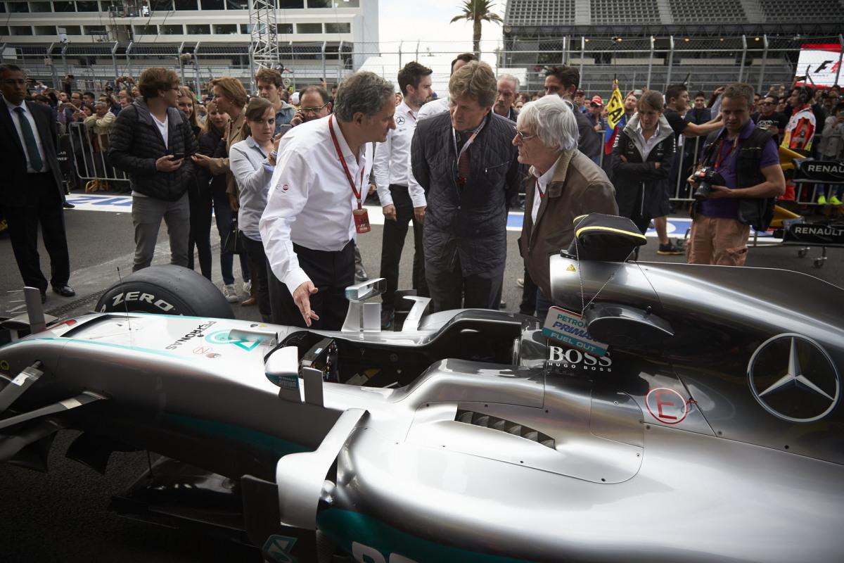 Bye-Bye Bernie: F1's Boss IsOut
