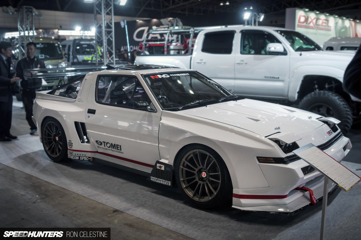 A Drift Spec, RB26-Swapped Starion