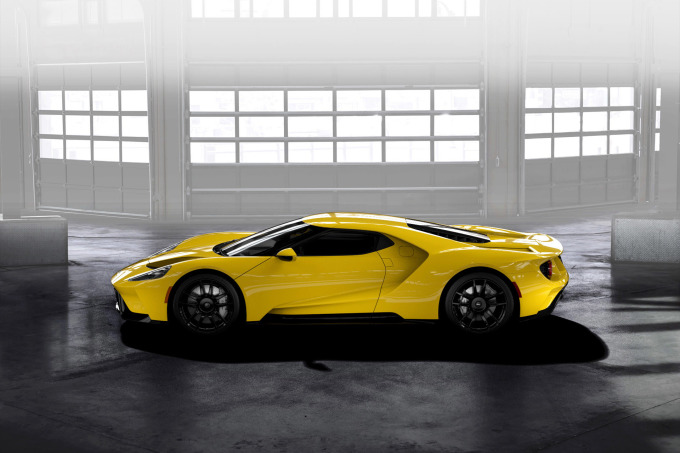 GT Configurator: Triple yellow Ford GT profile
