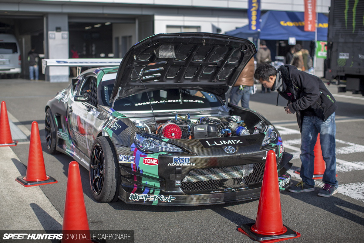 Who Needs Rules? HKS's Ultimate Drift Car