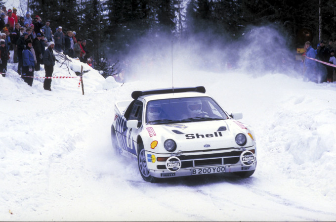 RS200 Rally Car (UK)