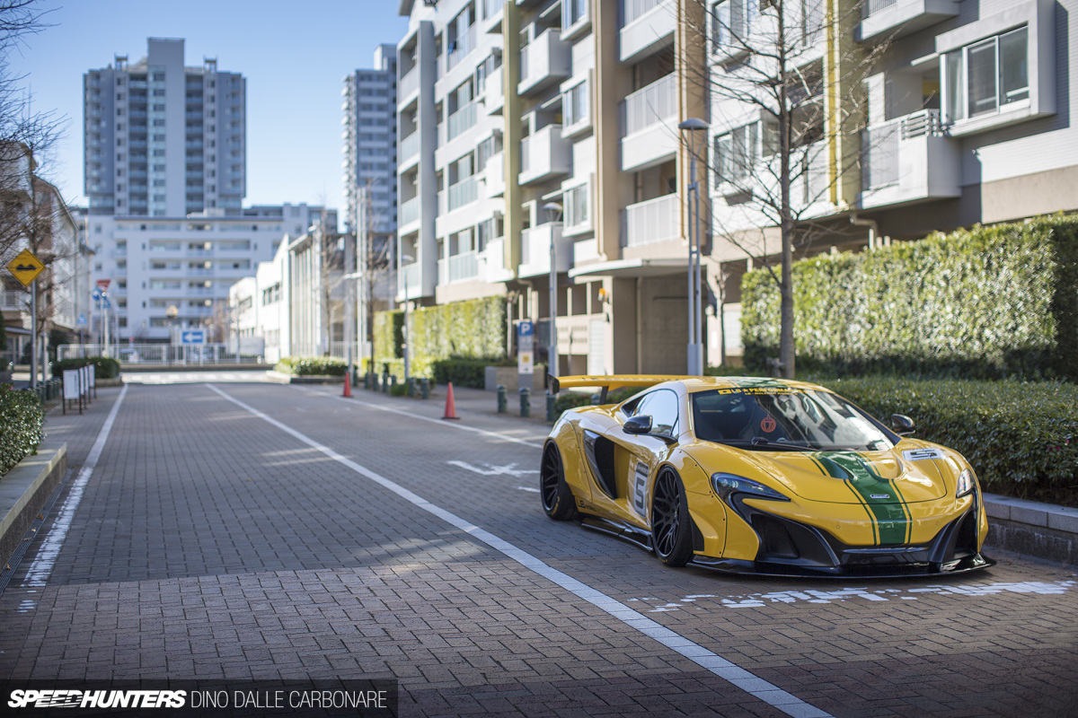 Daring To Be Different: Liberty Walk's 650S
