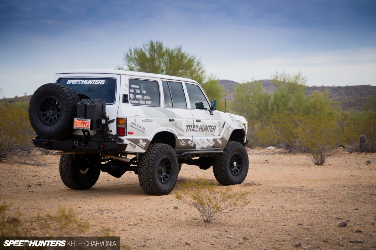 Project Trailhunter: 8 Lugs To 6, With Fuel Wheels