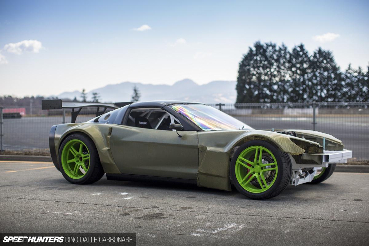 800hp, 900kg: Daigo Saito's D1Corvette