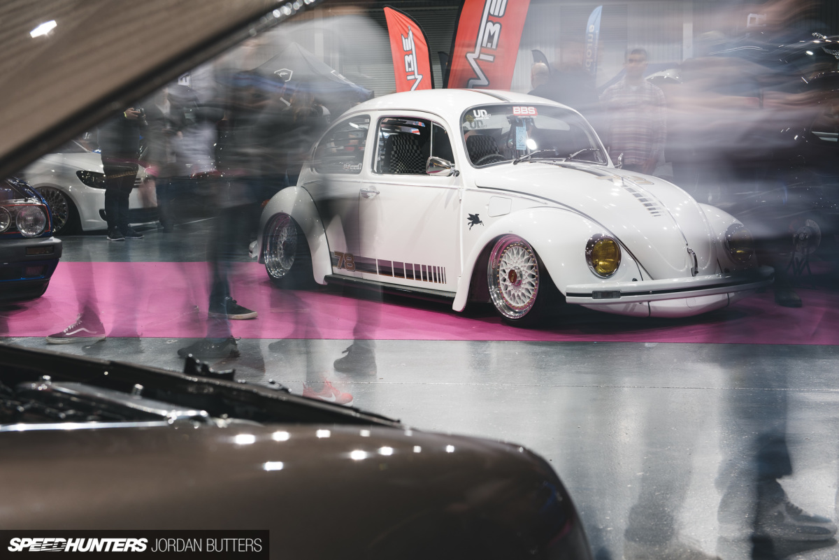 A VW Beetle With Modern Influences