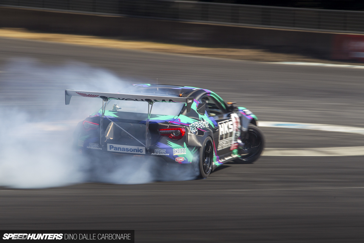 Inside HKS's Ultimate Drift Machine