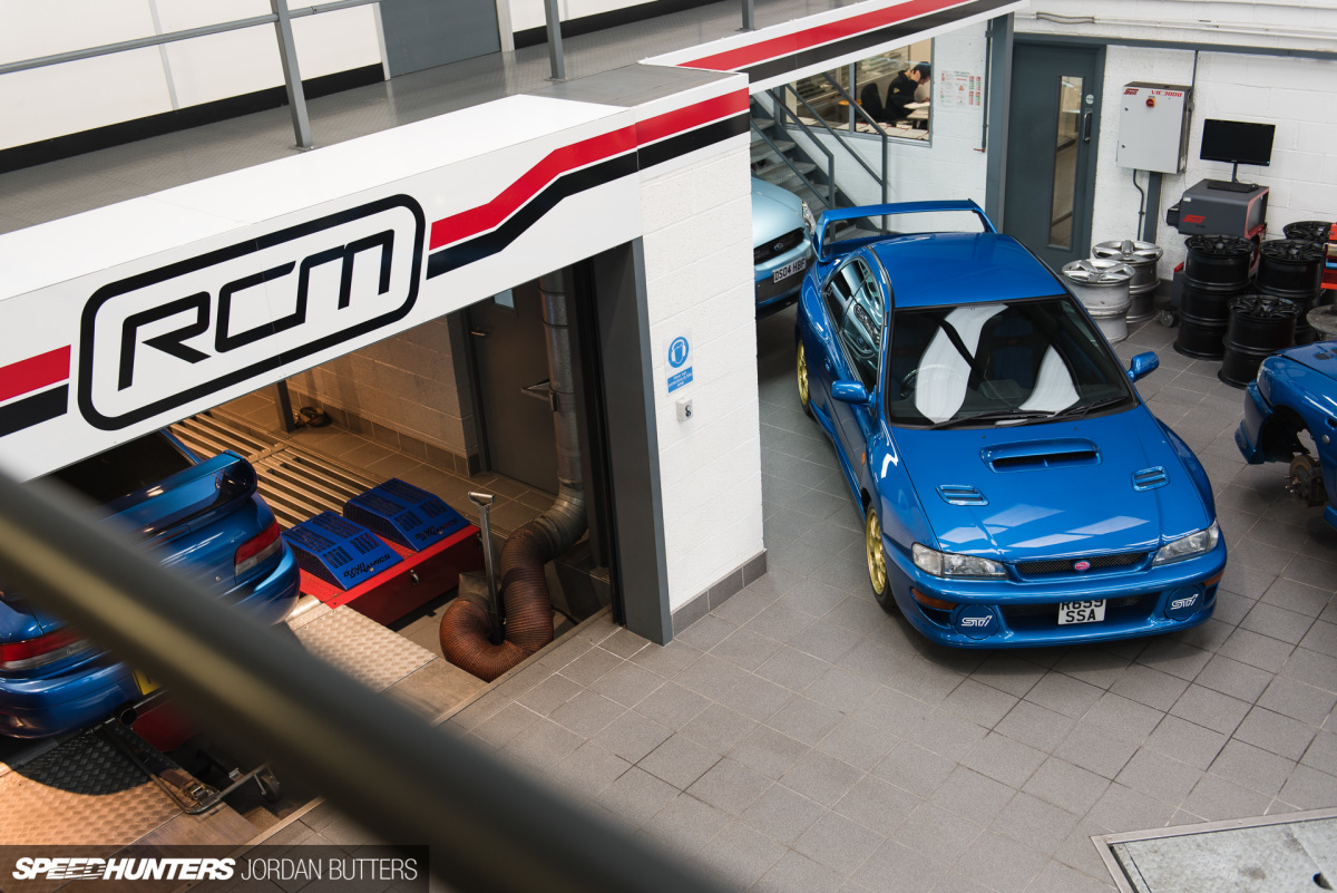 The World's Fastest Imprezas Are Built Here