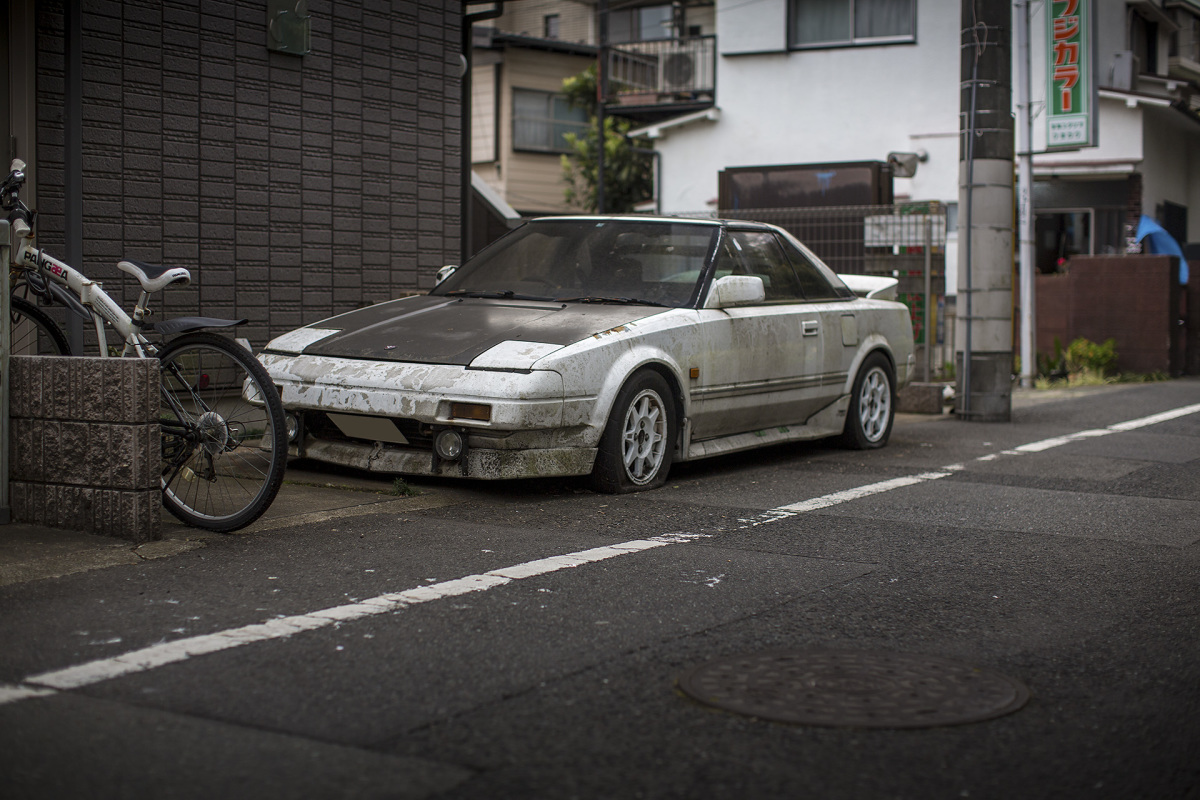 Your Heart Will Cry: An Abandoned MR2 In Tokyo