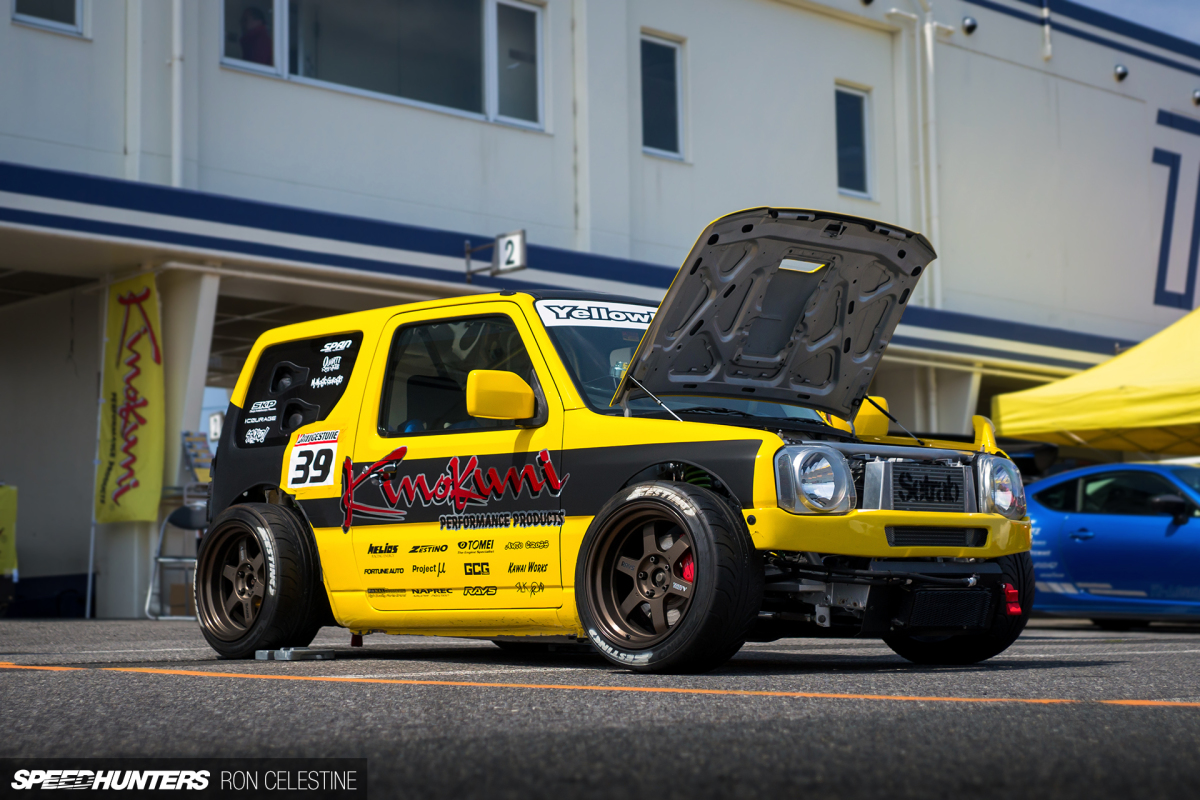 Yellow Bullet 2: The Time-Attacking Suzuki Jimny