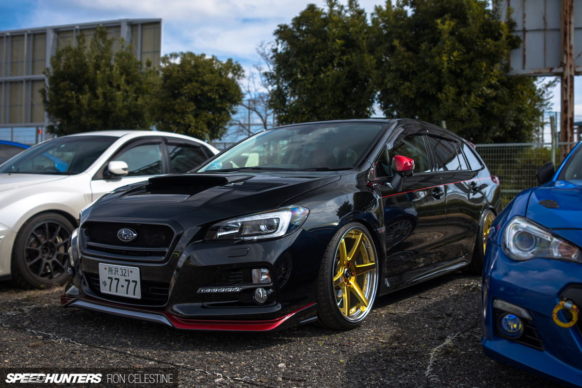 Parking Lot Hunting A Levorg Sti Sport Speedhunters