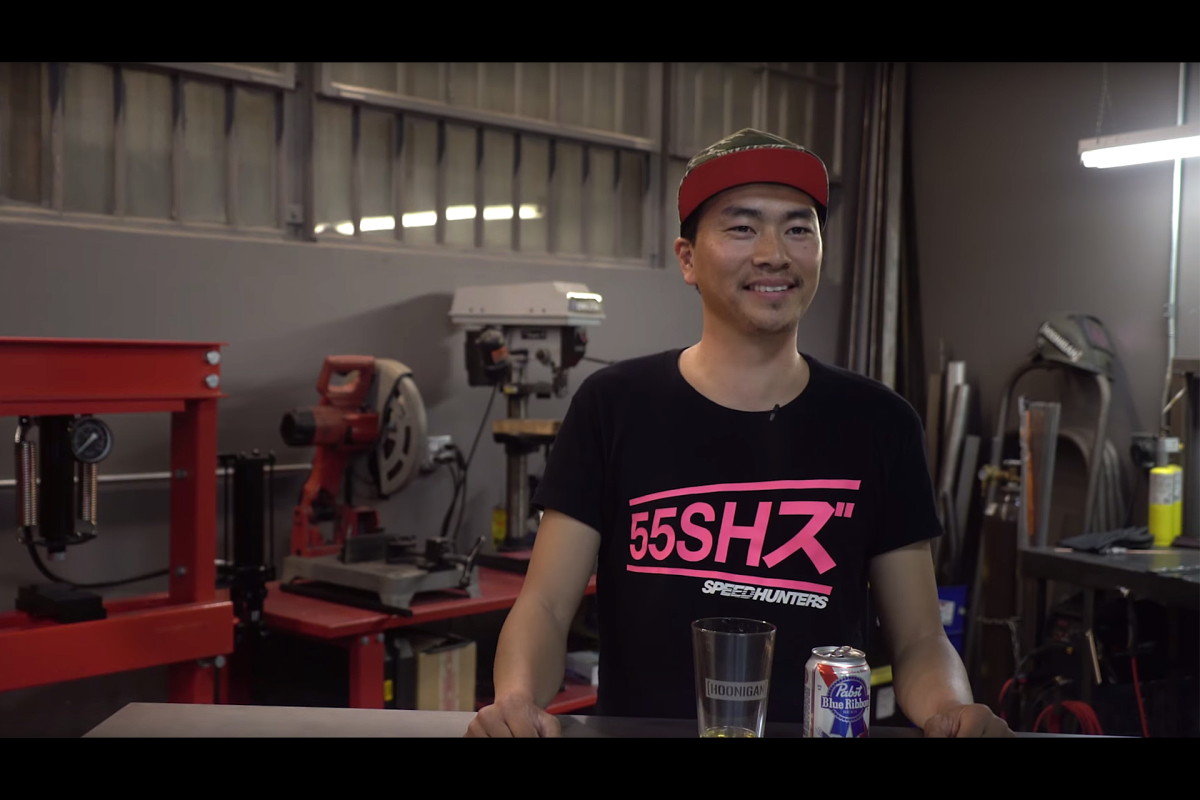 Larry Shares A Beer With The Hoonigans