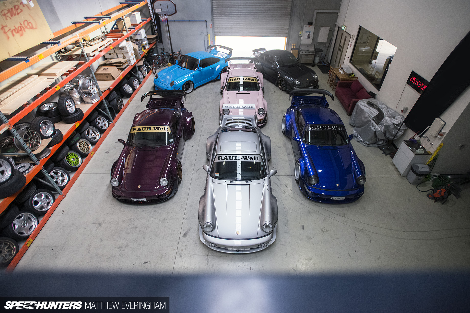 Meet The Australasian RWB Family