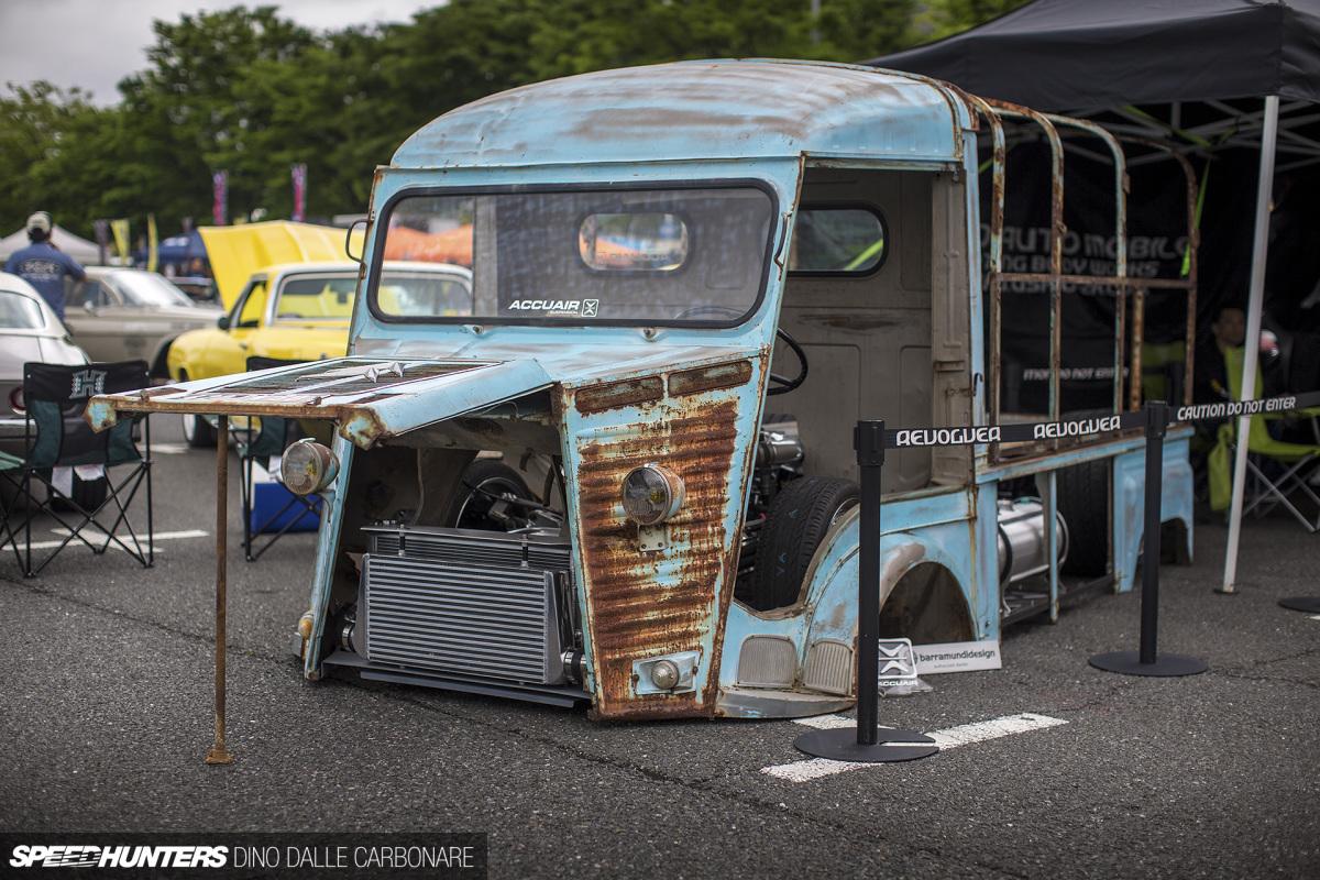 13B Turbo & Body Dropped: Ushio's Citroën HVan