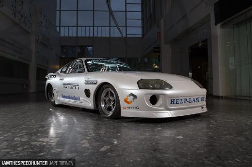 Finlandu0027s Fastest: A Straight Line Supra
