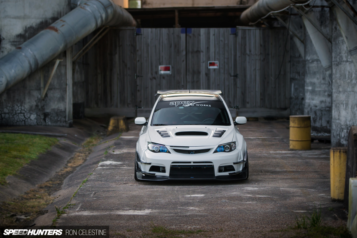 East Meets West In A Wide-Body WRX Hatch