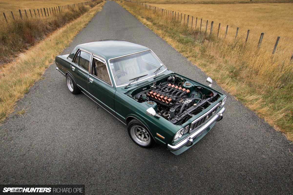 Rolling A Double Six: The V12 Toyota MarkII