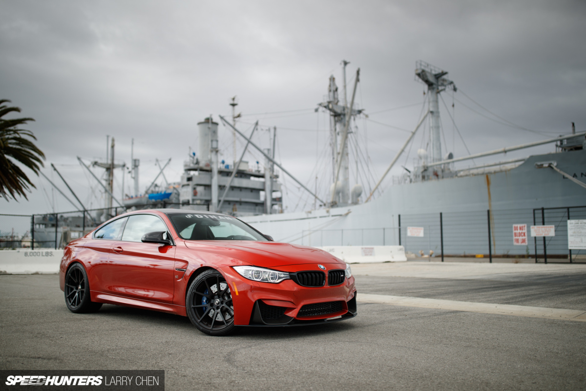 Giving BMW's M4 The Dinan S2Touch
