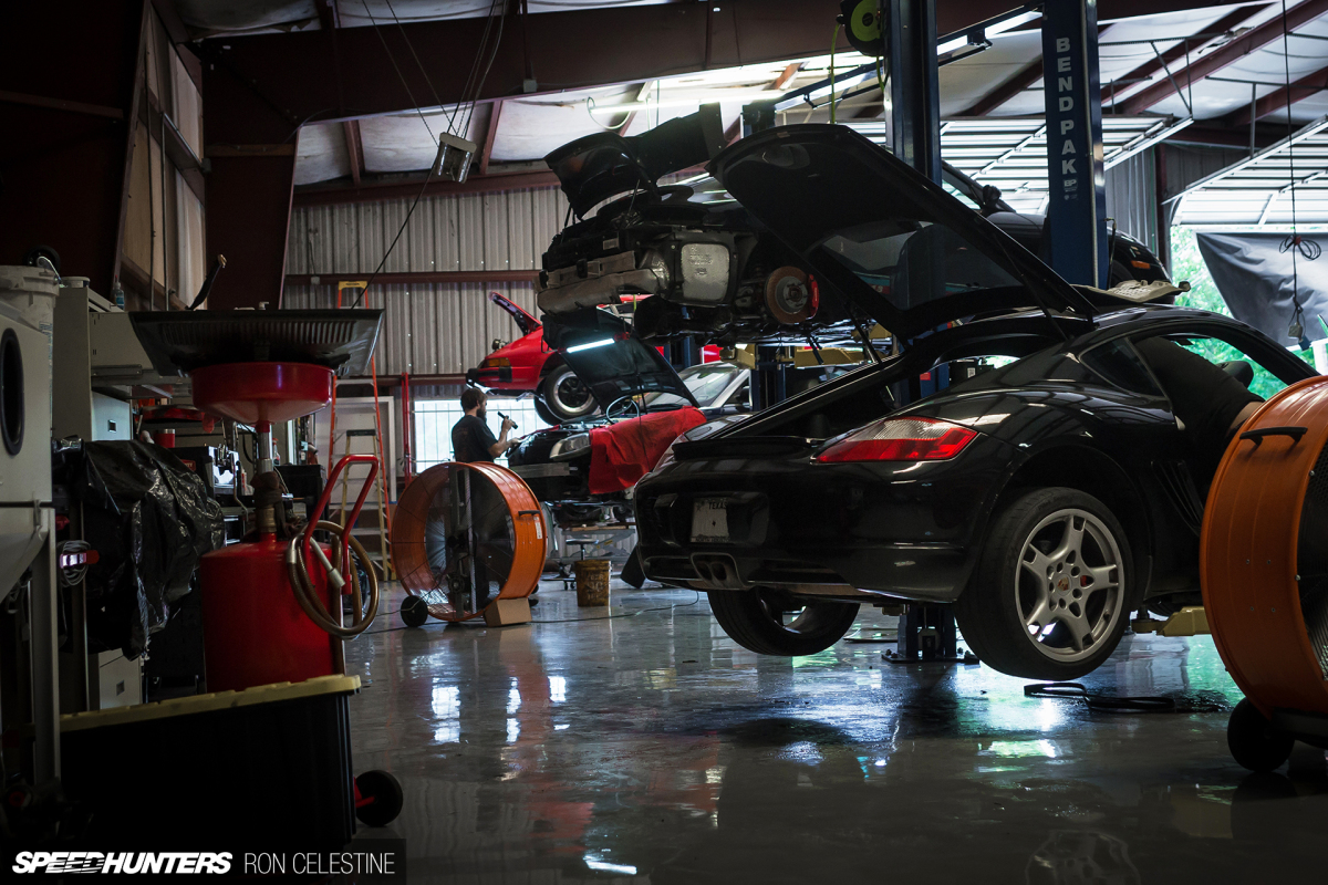 Inside A Porsche Specialty Shop