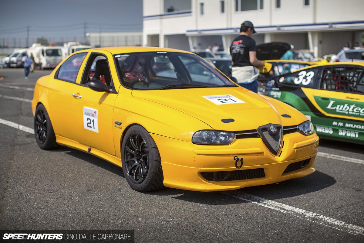 A Japanese Alfa156