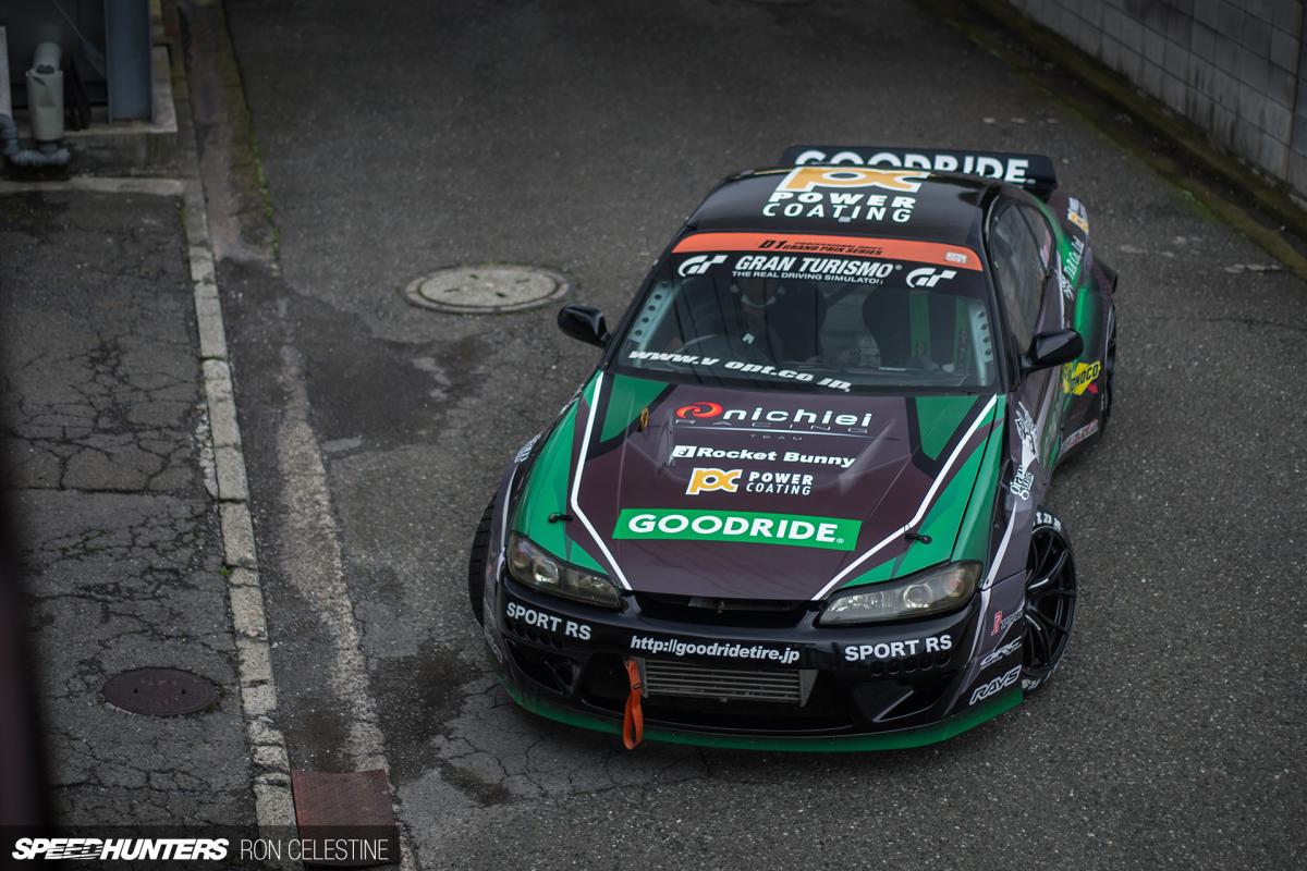 A Look Inside Team Nichiei's D1 SilviaS15