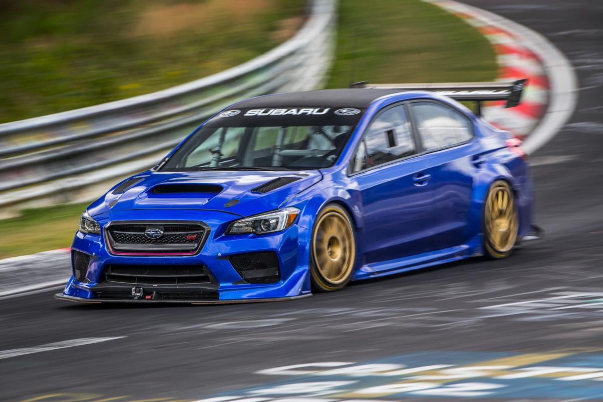 One Fast Sedan: Subaru's NürburgringSpecial