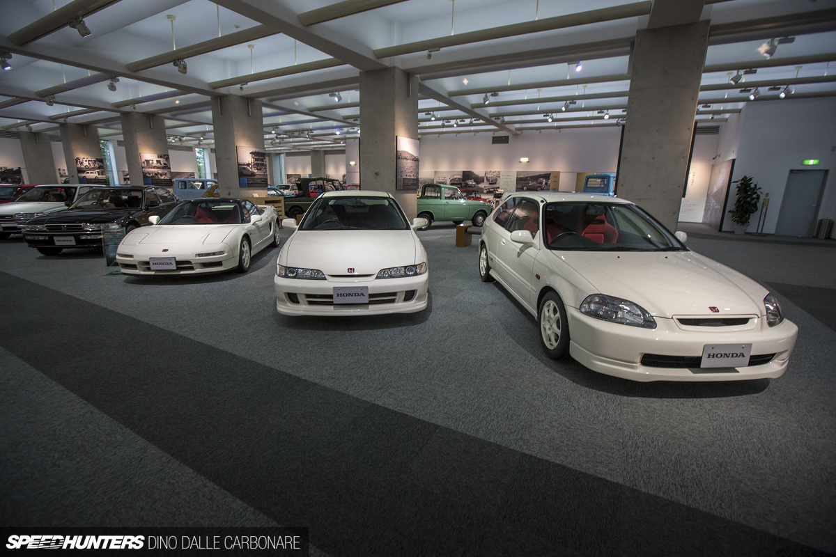 Honda Collection Hall's Type R Trio