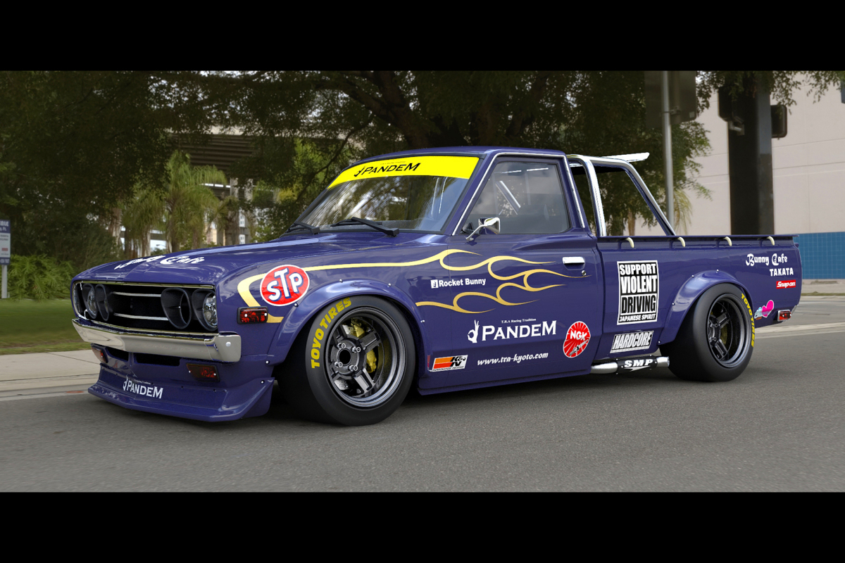 Kei Miura S Pandem Touch For The Datsun 620 Speedhunters