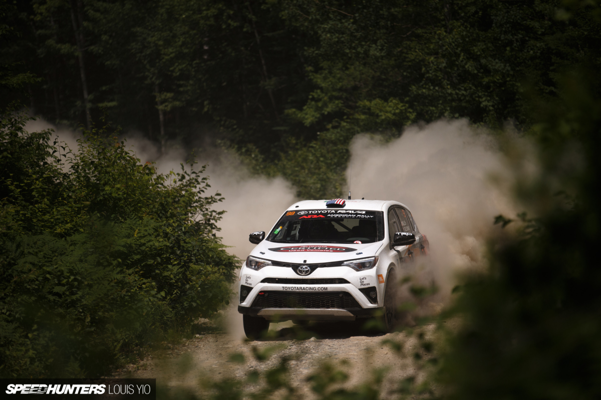 The New England Forest Rally Experience