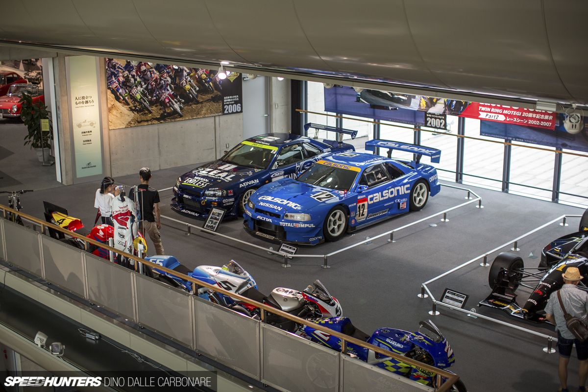 GT-R Racing Legends In The HondaMuseum