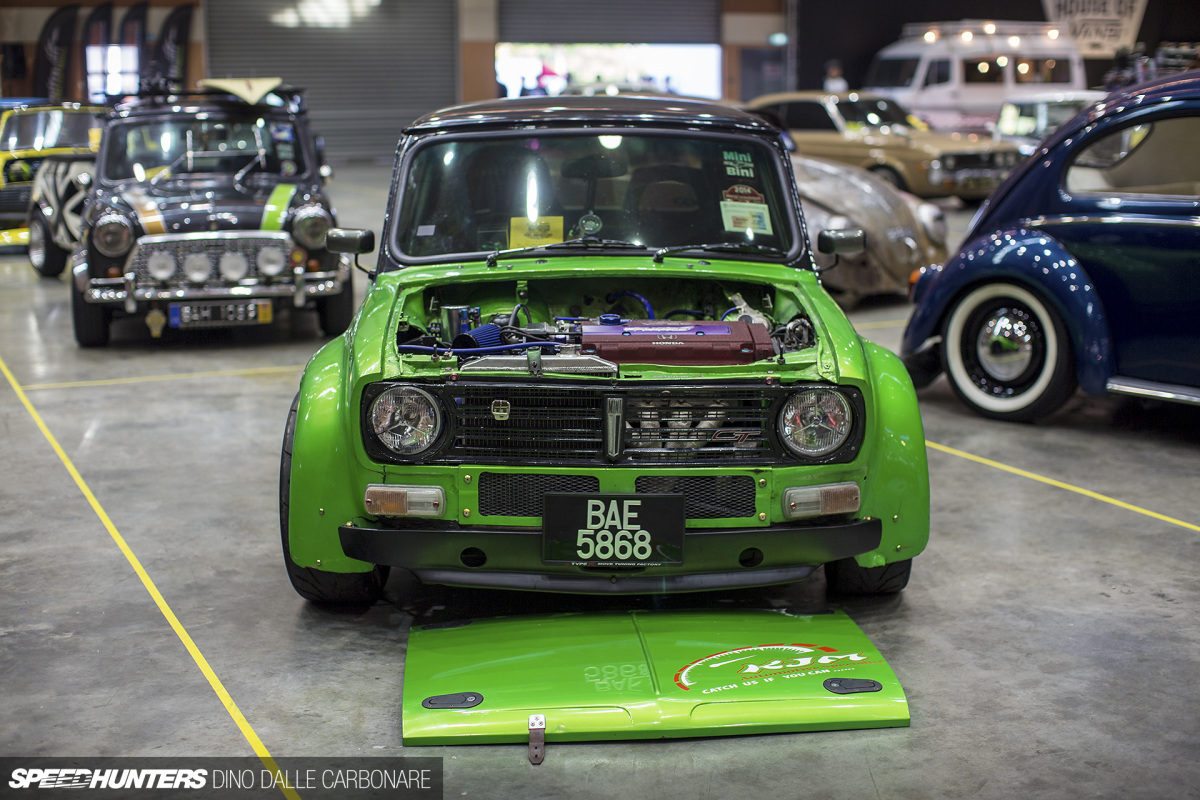 A Mini With JDM Aspirations