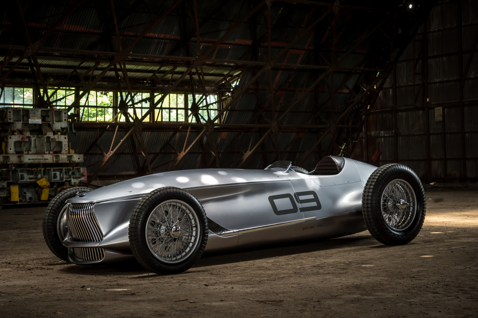 Classic evs infiniti 39 s prototype 9 retro racer speedhunters for South motors infiniti used cars