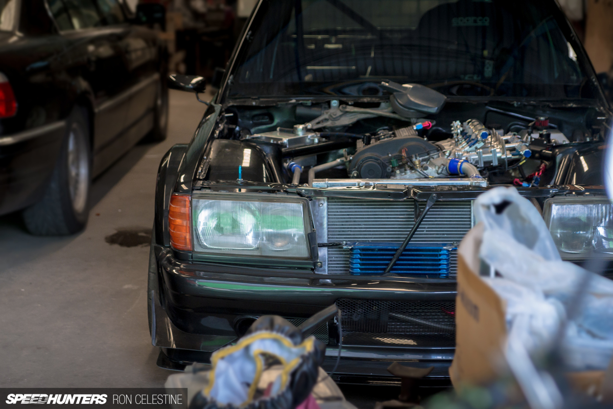 Realizing A 190E Racing Dream