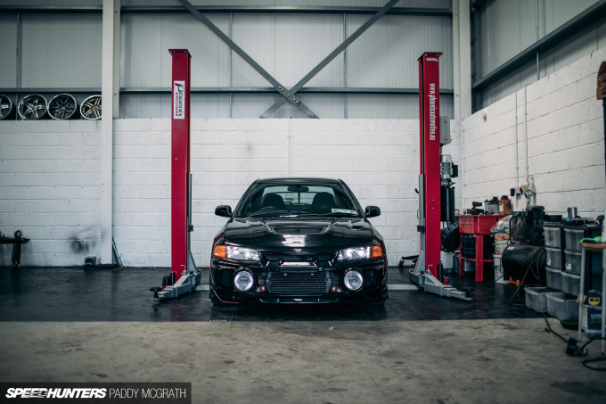 2017 Mitsubishi Lancer Shed Ireland Speedhunters by Paddy McGrath-4