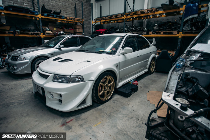 2017 Mitsubishi Lancer Shed Ireland Speedhunters by Paddy McGrath-36