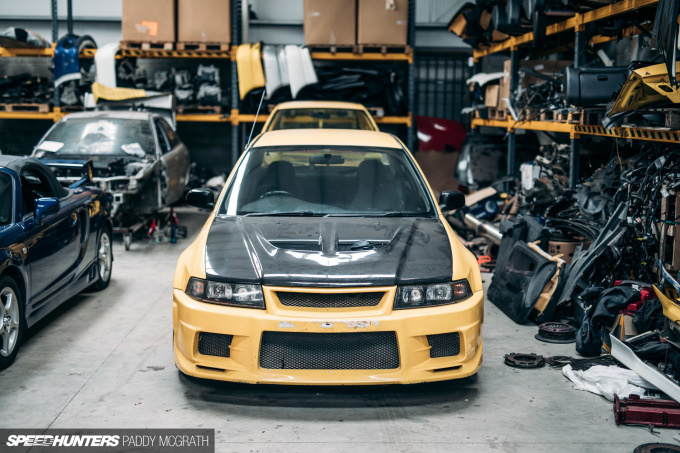 2017 Mitsubishi Lancer Shed Ireland Speedhunters by Paddy McGrath-42