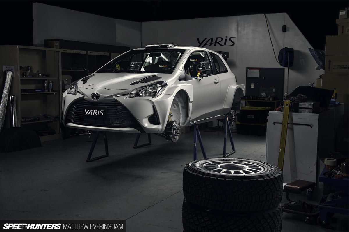 Next-Gen Rally: Inside An AP4 Yaris