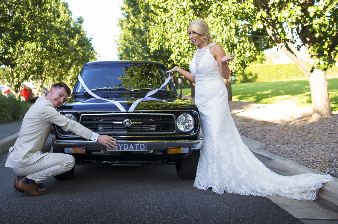 datsun wedding 1