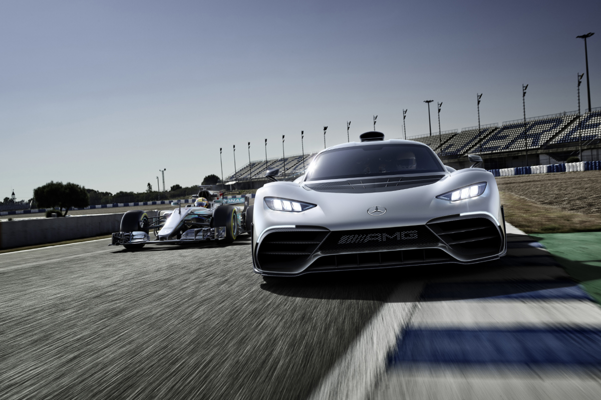 Mercedes-AMG Project ONE BreaksCover
