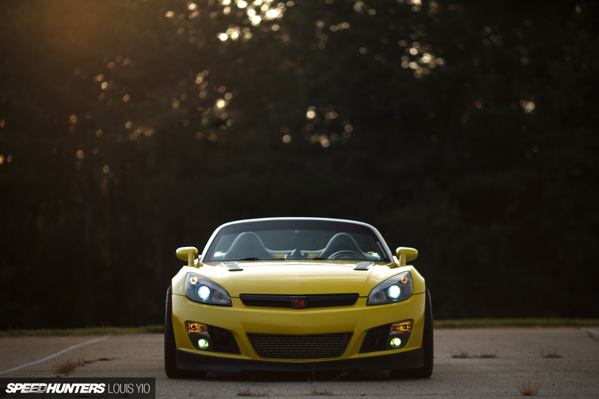 Skyward Thinking: A 2JZ-Swapped Saturn