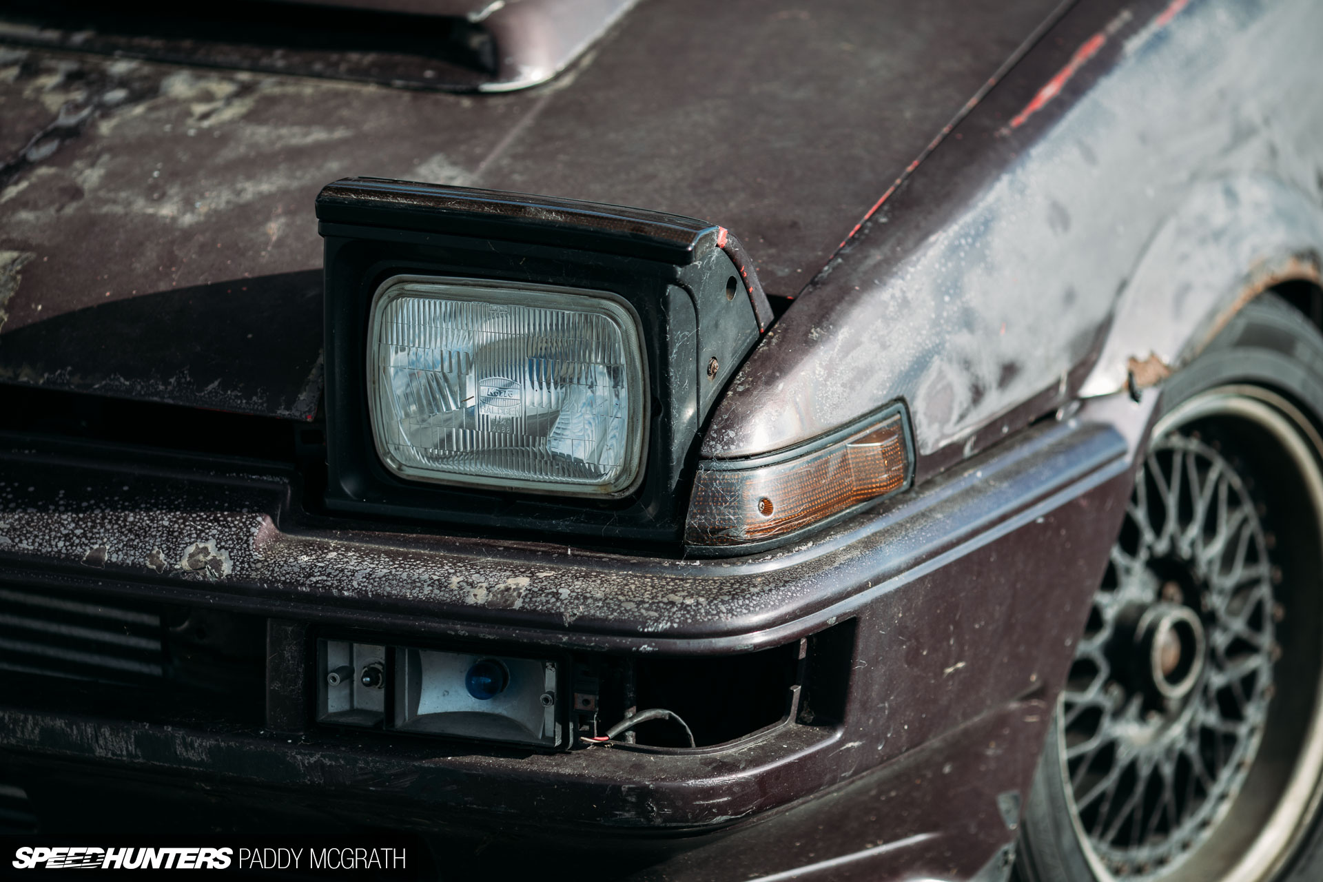 How One Irishman Saved An AE86 Trueno