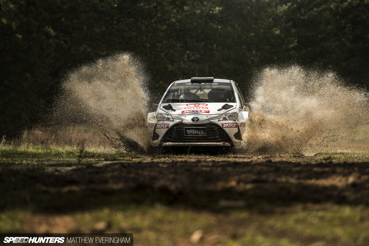 Getting A Taste Of Rally At170km/h